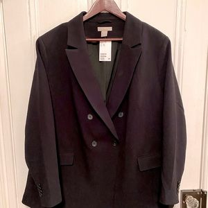 H&M Double-Breasted Blazer